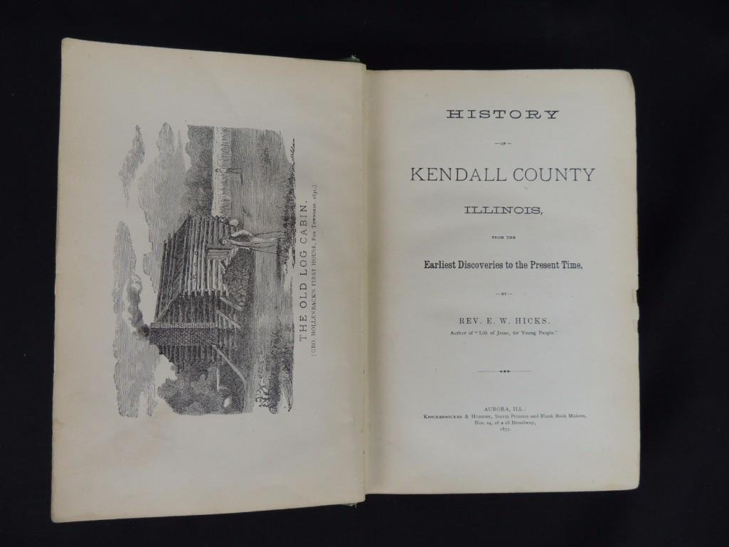 1877 History of Kendall County Illinois by Rev. E. W. - 4