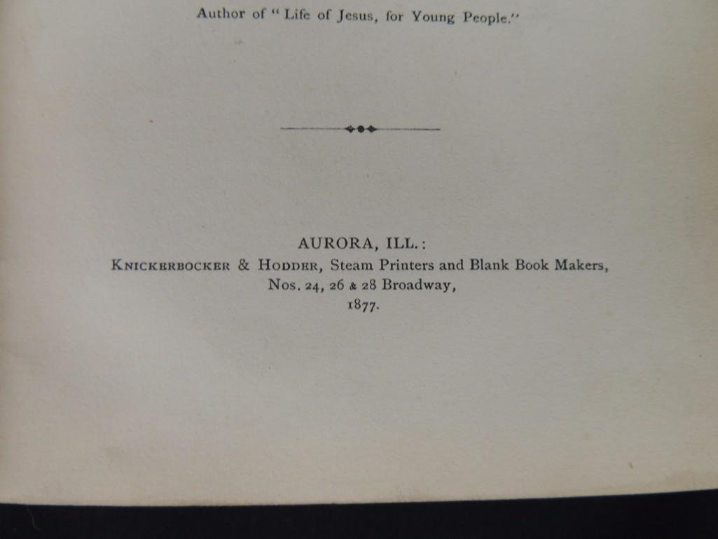 1877 History of Kendall County Illinois by Rev. E. W. - 5