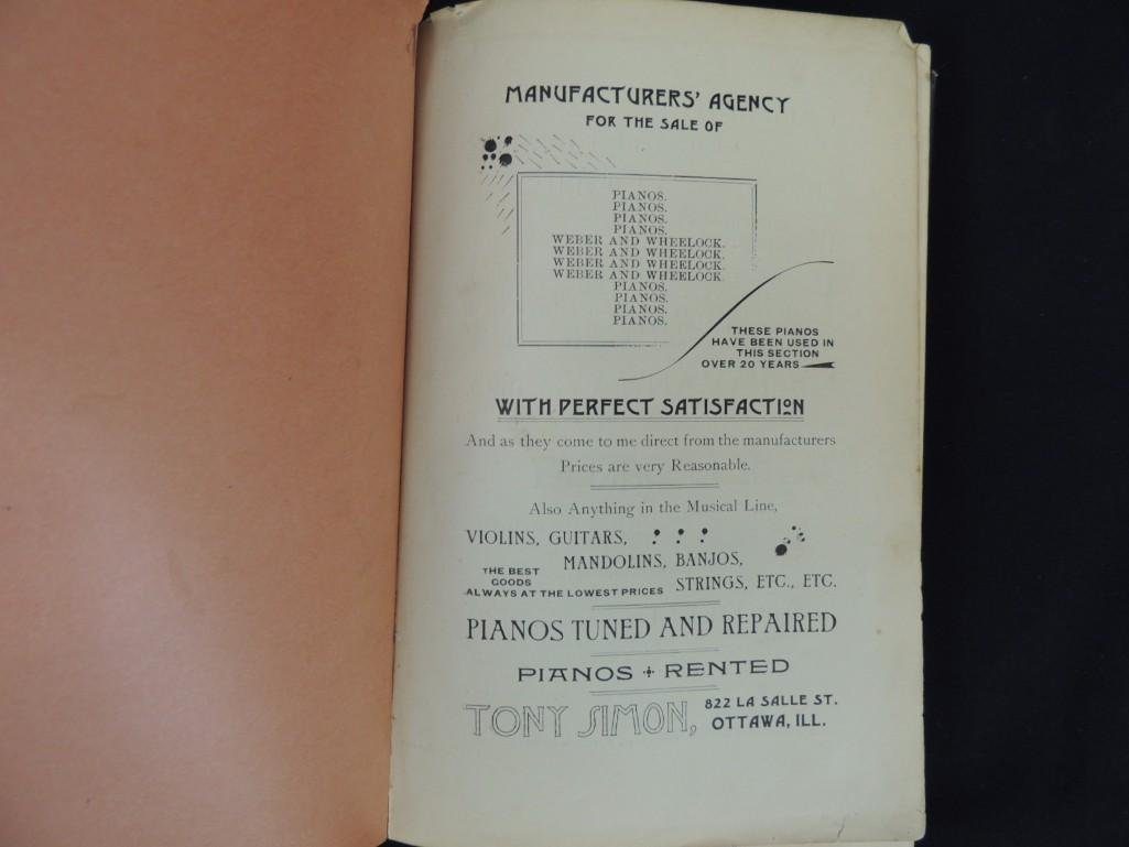 1892's The Ottawa Cook Book Press of WM. Osman & Sons - 2