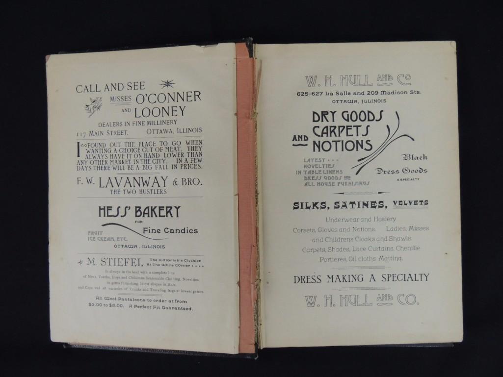 1892's The Ottawa Cook Book Press of WM. Osman & Sons - 3