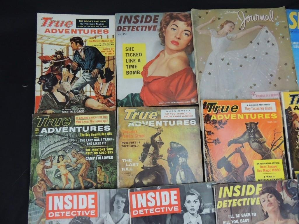 Group of 13 True Adventure, Inside Detective, and More - 3