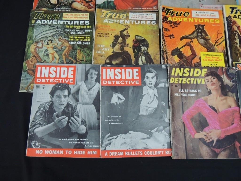 Group of 13 True Adventure, Inside Detective, and More - 4