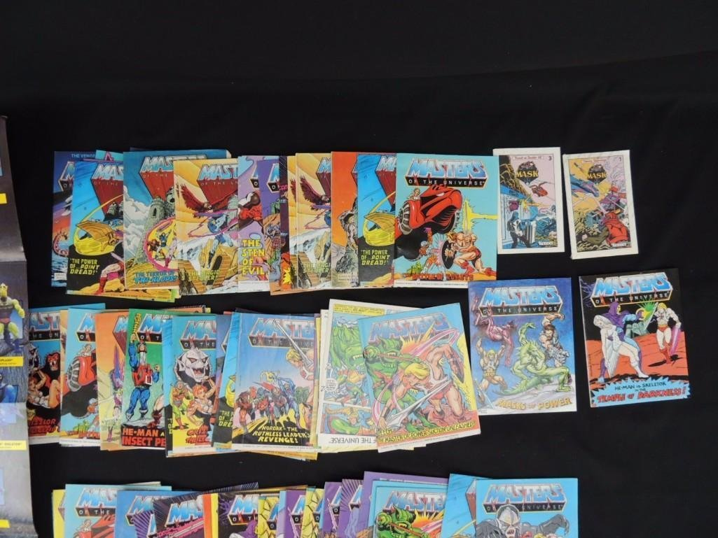 Masters of the Universe 1984 Mattel Comic Books and Toy - 2