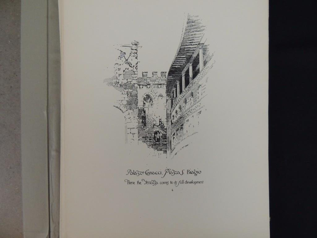 Pen Drawings of Florence by Herbert Railton with 70 - 2