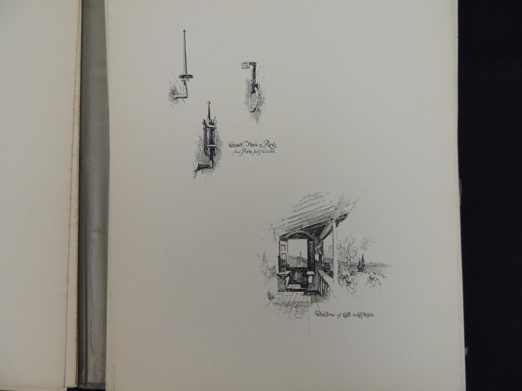 Pen Drawings of Florence by Herbert Railton with 70 - 3