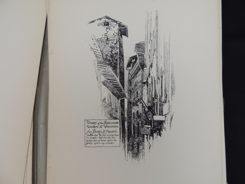 Pen Drawings of Florence by Herbert Railton with 70 - 4