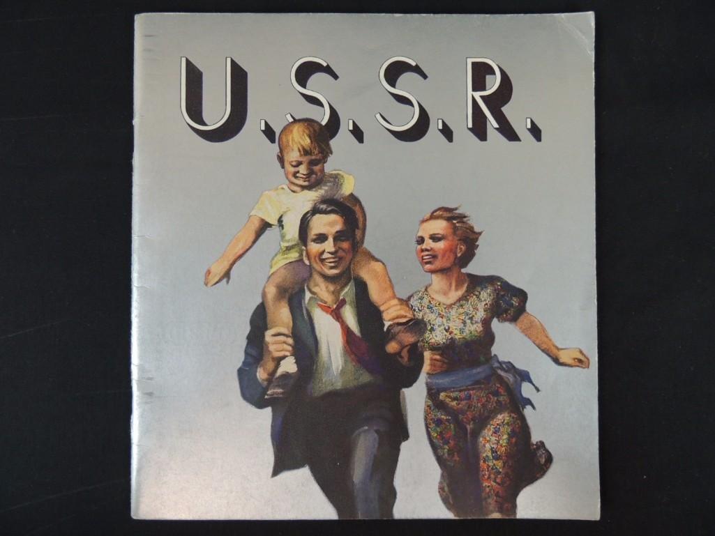 1936 U.S.S.R. Propaganda Book