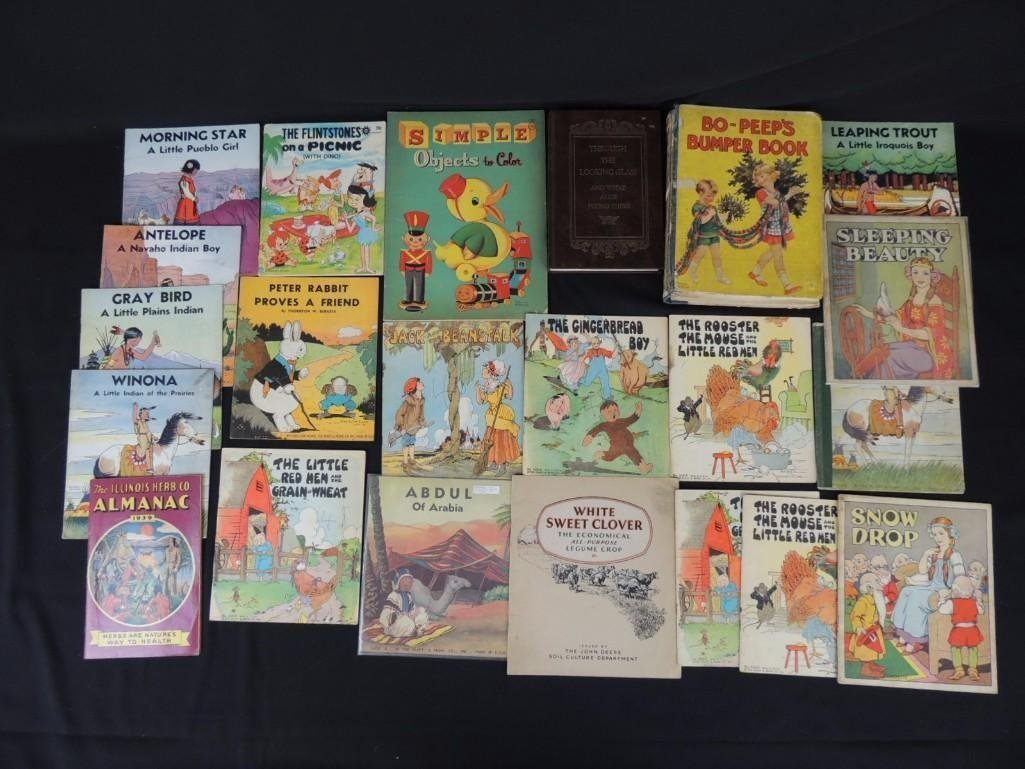 Group of 22 Children's Books Featuring Sleeping Beauty,