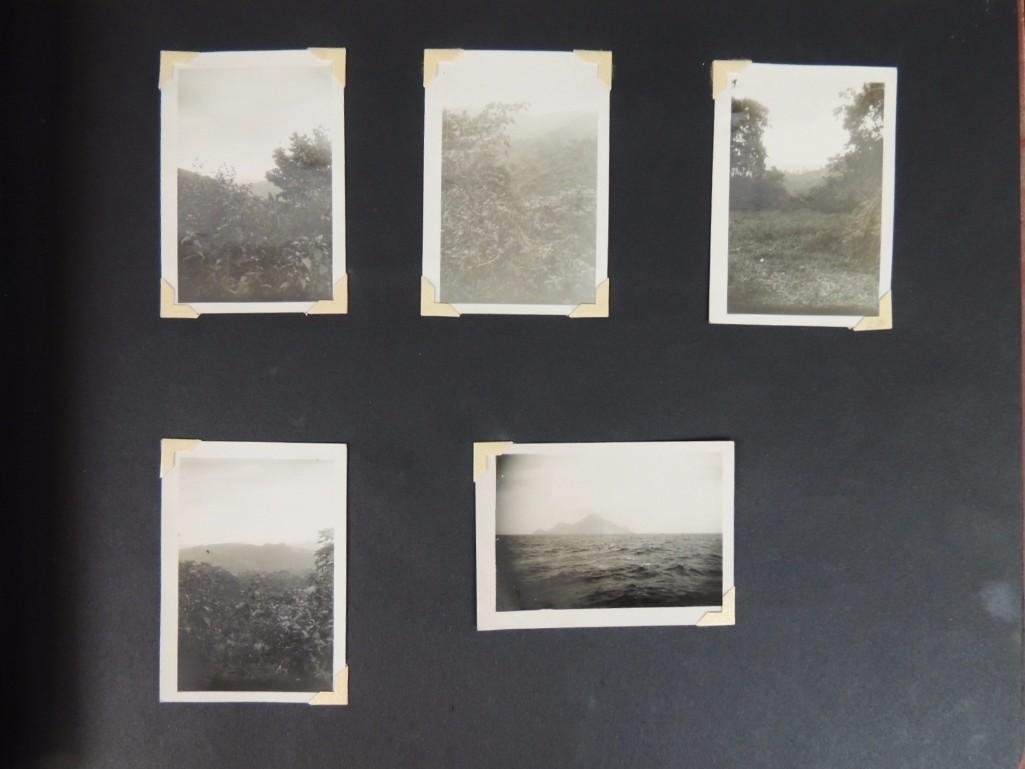 Group of 2 Postcard and Photograph Album Featuring - 2