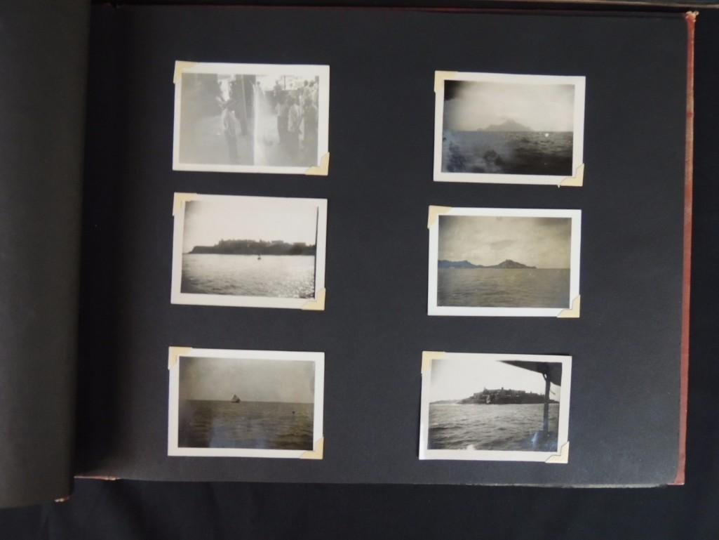 Group of 2 Postcard and Photograph Album Featuring - 4