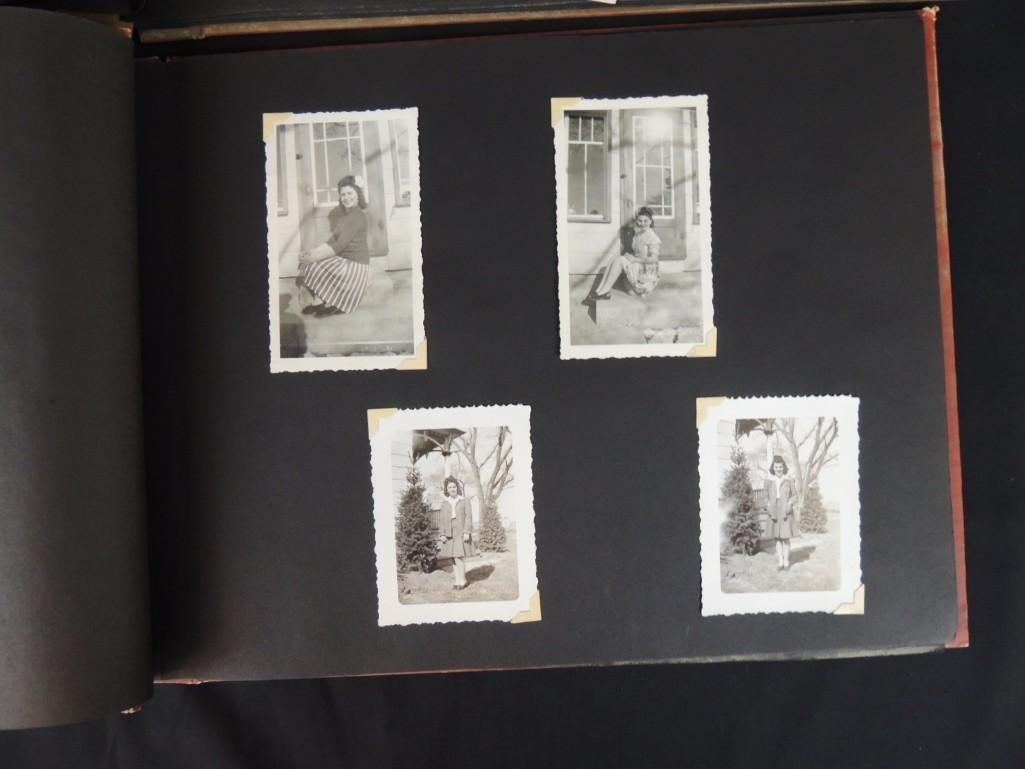 Group of 2 Postcard and Photograph Album Featuring - 6