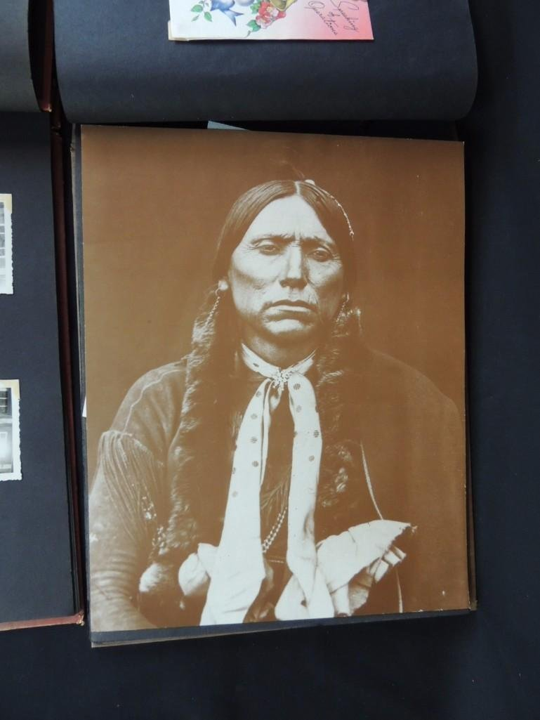 Group of 2 Postcard and Photograph Album Featuring - 7