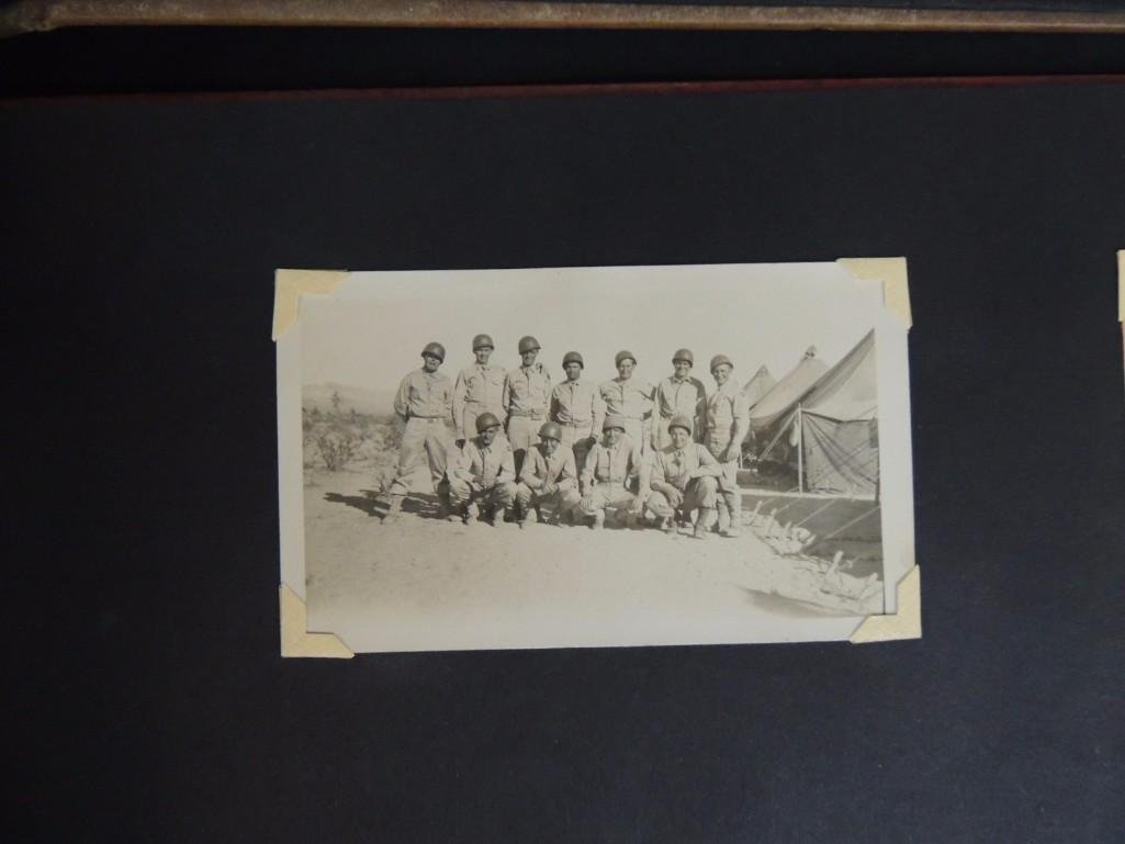 Group of 2 Postcard and Photograph Album Featuring - 9
