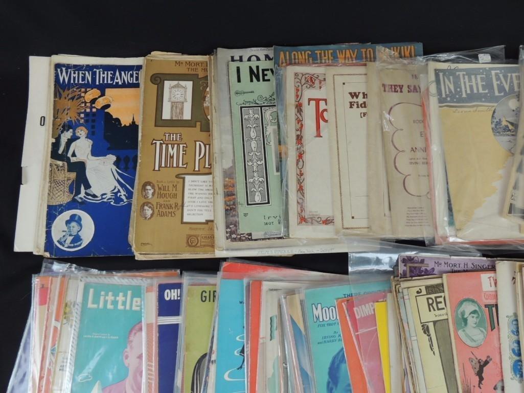 Approximately 50 Plus Vintage Sheet Music Books - 3