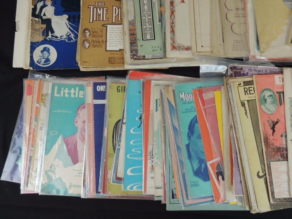 Approximately 50 Plus Vintage Sheet Music Books - 4