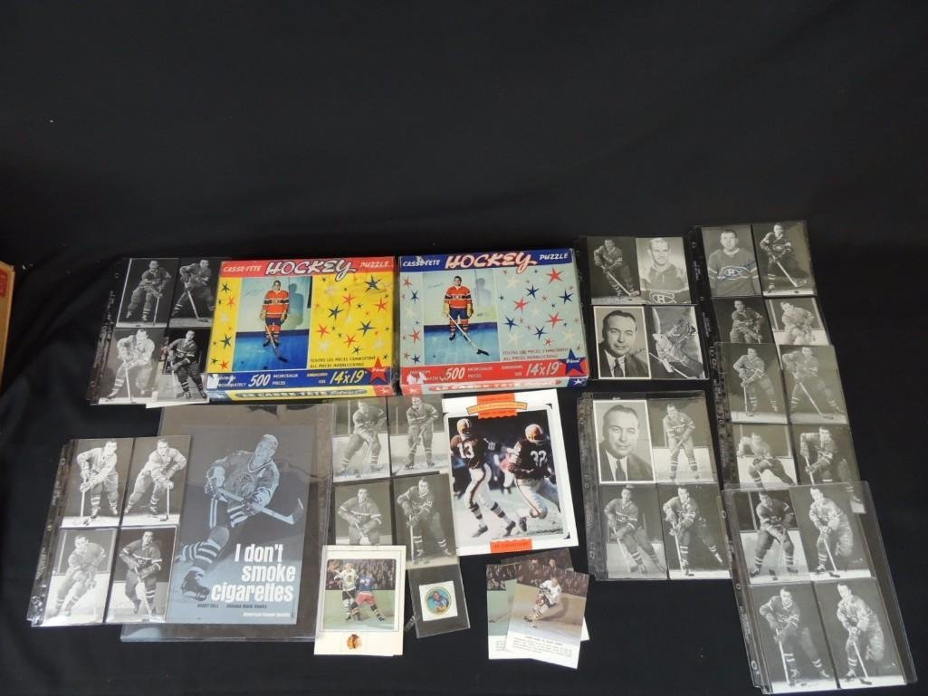 Group of Chicago Blackhawks Ephemera Featuring