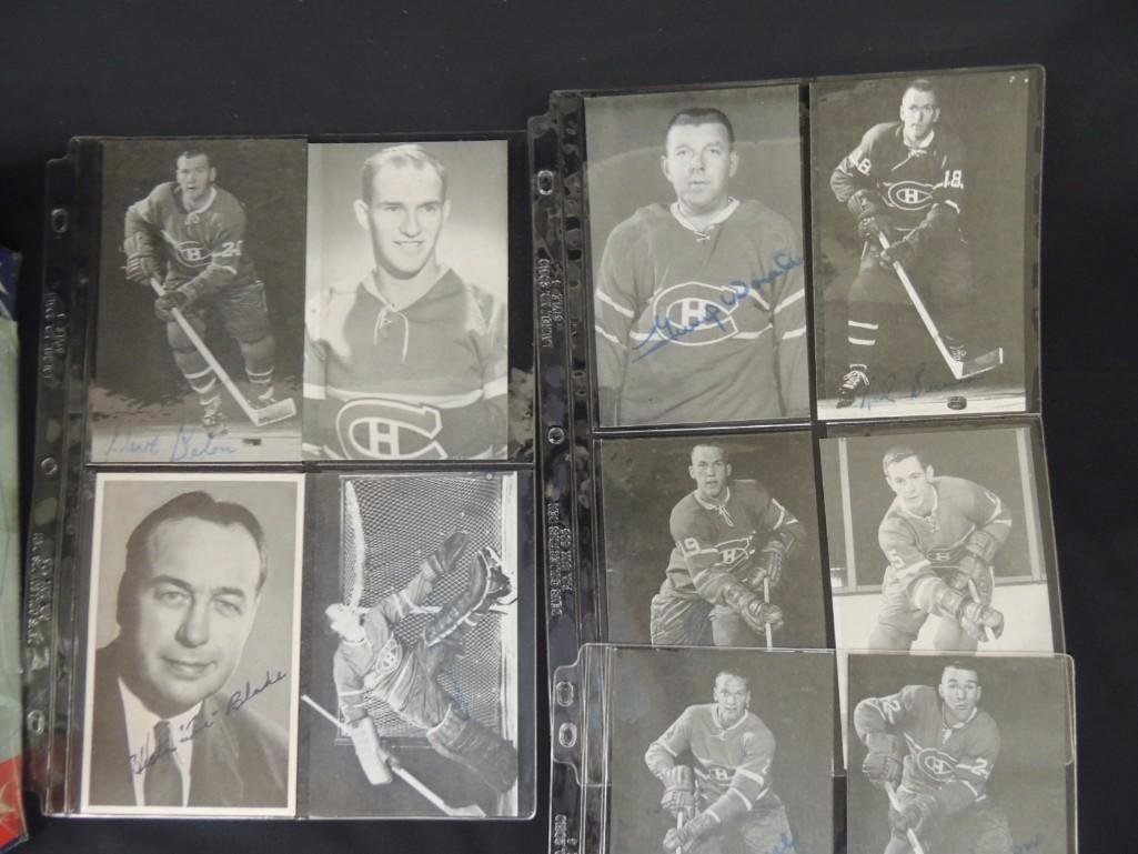 Group of Chicago Blackhawks Ephemera Featuring - 2