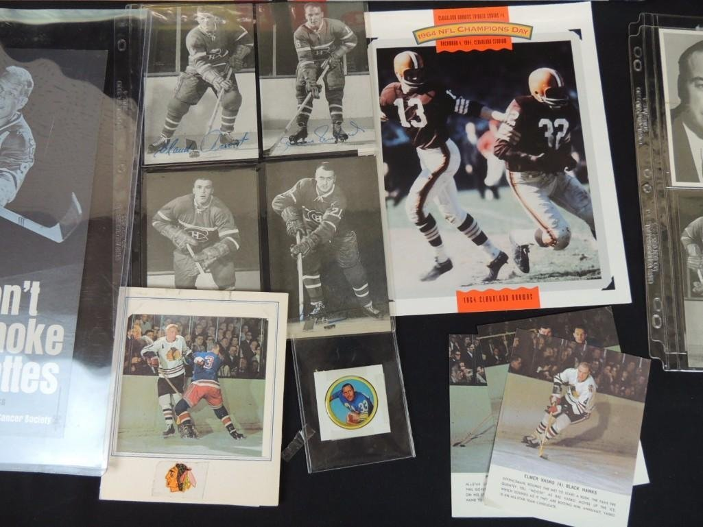 Group of Chicago Blackhawks Ephemera Featuring - 6