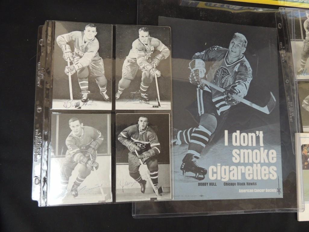 Group of Chicago Blackhawks Ephemera Featuring - 7