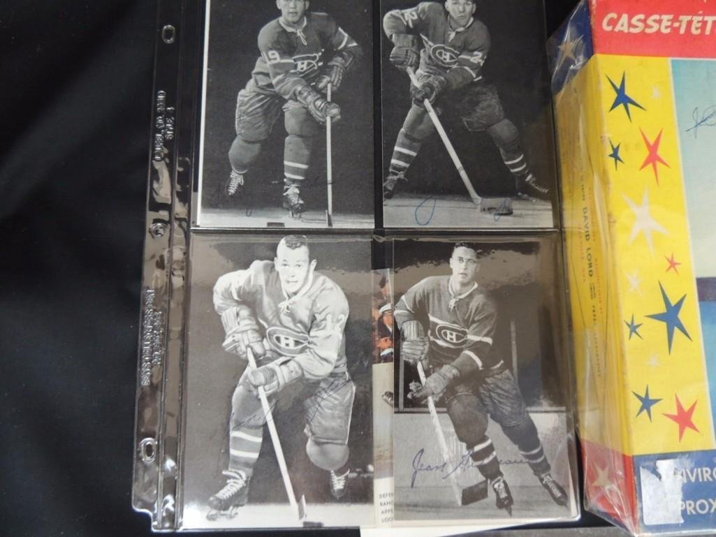 Group of Chicago Blackhawks Ephemera Featuring - 8