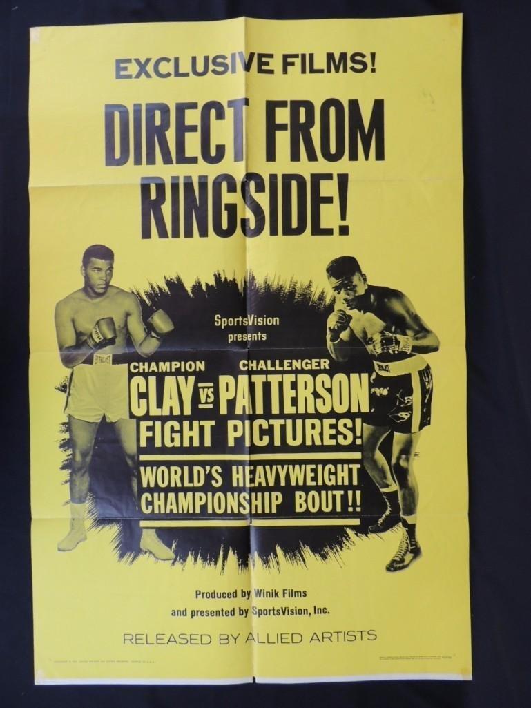 1965 Clay vs Patterson World Heavyweight Championship