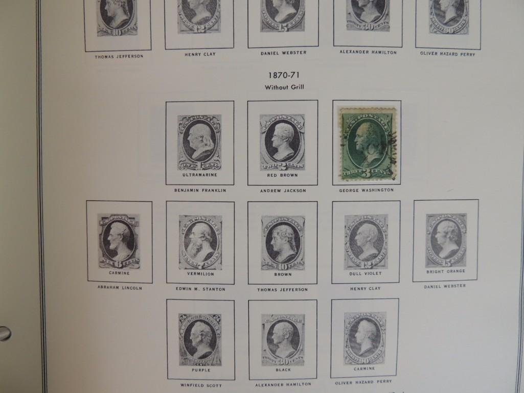 Group of New and Used Postage Stamps and Incomplete - 4