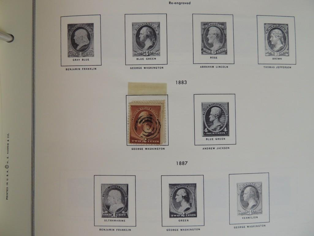 Group of New and Used Postage Stamps and Incomplete - 5