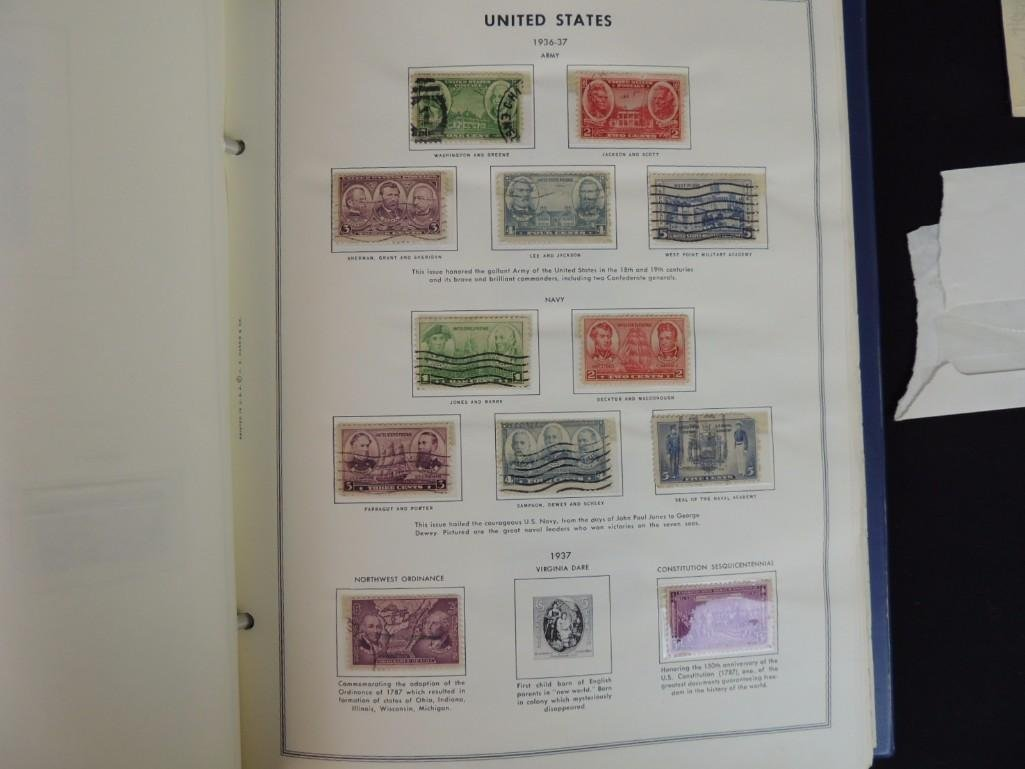 Group of New and Used Postage Stamps and Incomplete - 7