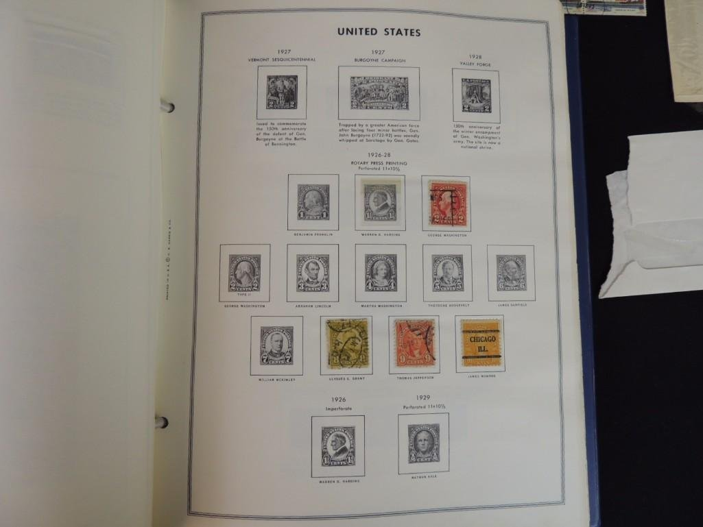 Group of New and Used Postage Stamps and Incomplete - 8