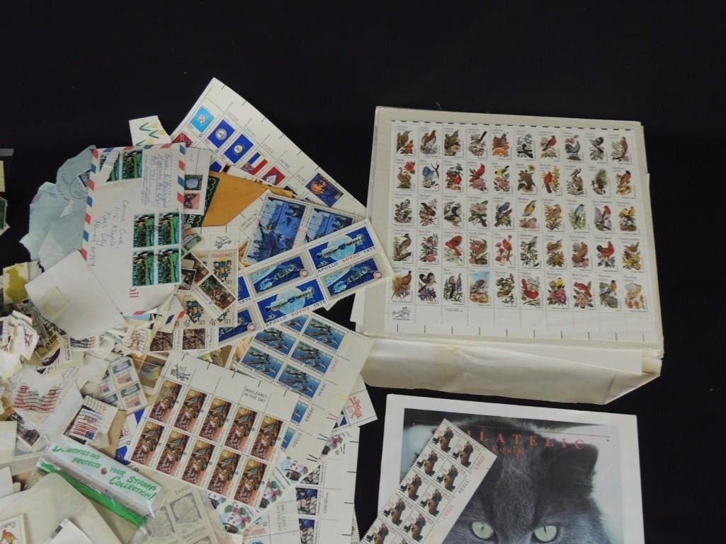 Large Group of U.S. Postage Stamp Plates and Mint Sets - 4