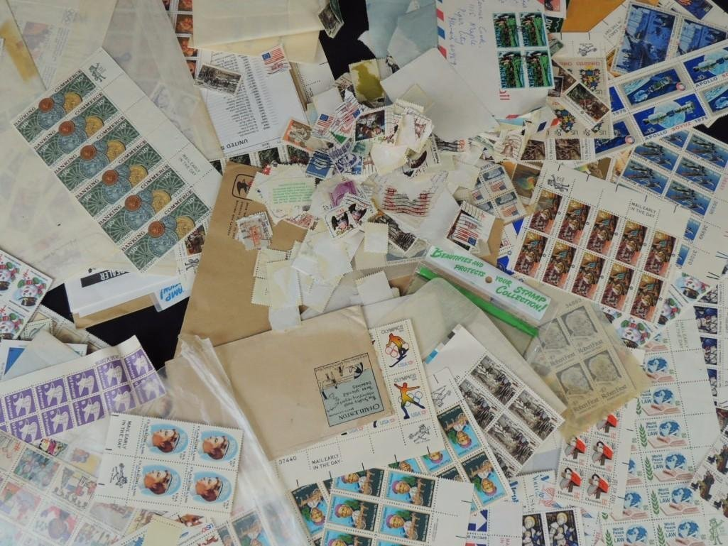 Large Group of U.S. Postage Stamp Plates and Mint Sets - 6
