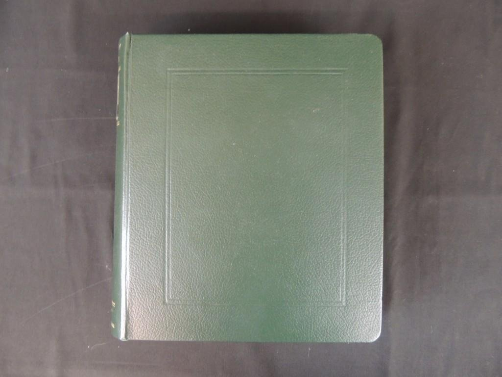 Japanese Postage Stamp Album with 160 Plus Pages,