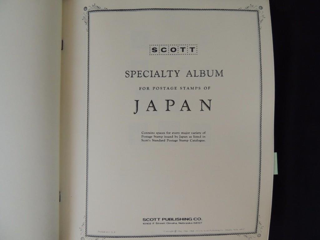 Japanese Postage Stamp Album with 160 Plus Pages, - 2