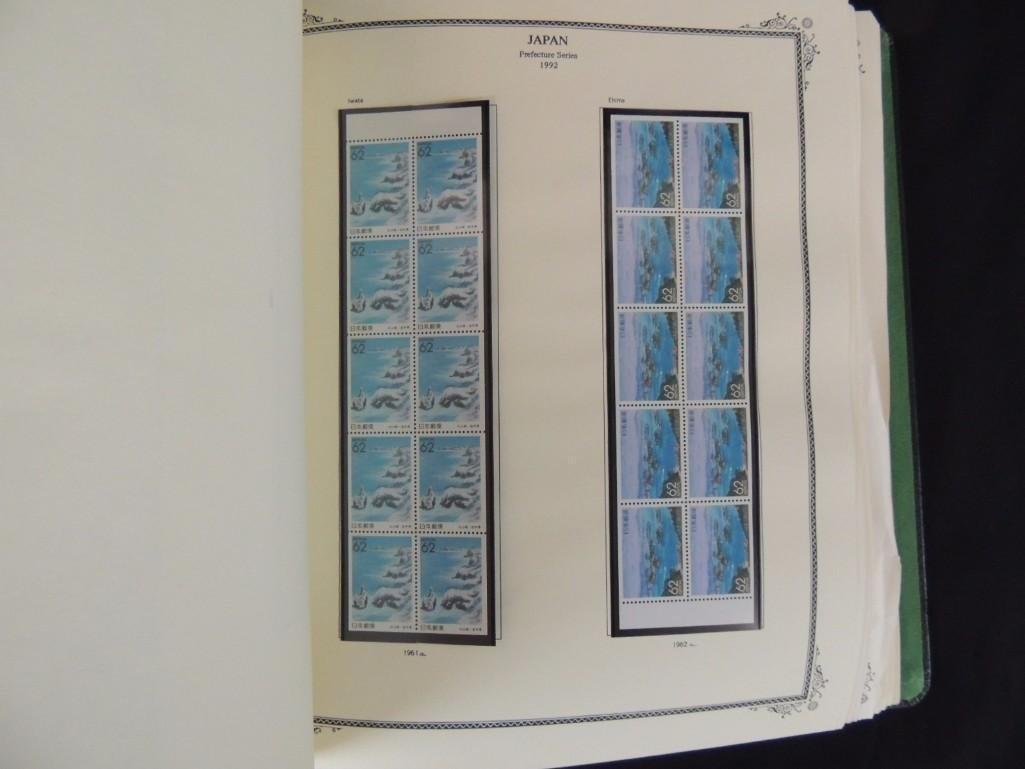 Japanese Postage Stamp Album 1,000's of Stamps Dates - 4