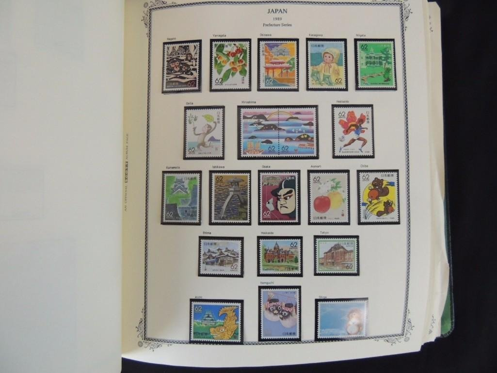 Japanese Postage Stamp Album 1,000's of Stamps Dates - 6