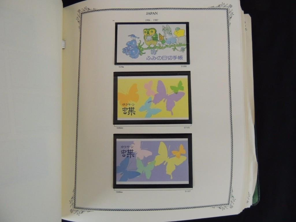 Japanese Postage Stamp Album 1,000's of Stamps Dates - 9