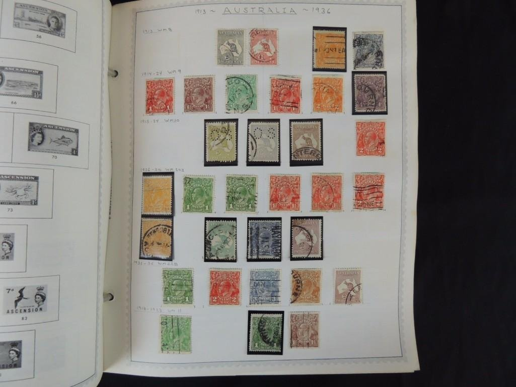 World Postage Stamp Album A-Netherlands, 1,000's of - 2