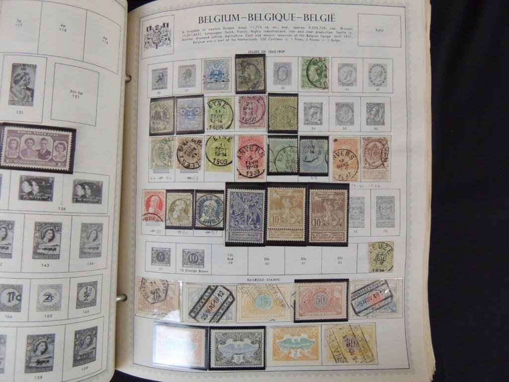 World Postage Stamp Album A-Netherlands, 1,000's of - 4