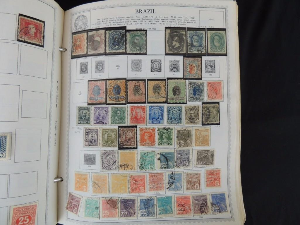 World Postage Stamp Album A-Netherlands, 1,000's of - 5