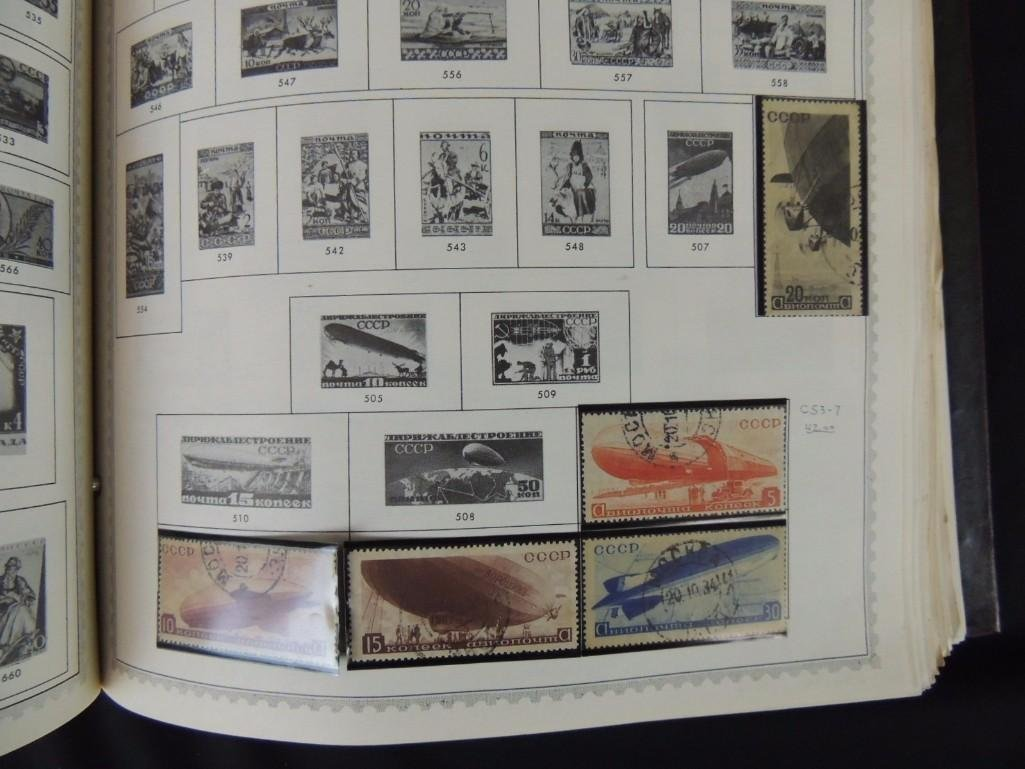 World Postage Stamp Album New Caledonia - Yugoslavia, - 5