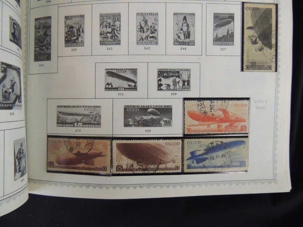 World Postage Stamp Album New Caledonia - Yugoslavia, - 7