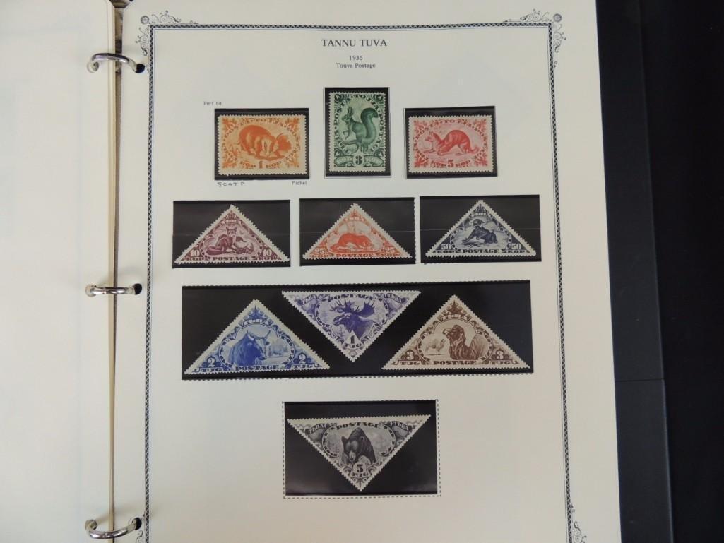 Tannu Tuva 1926-1936 Postage Stamp Album - 10