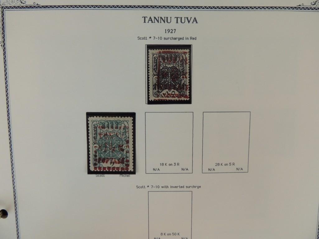Tannu Tuva 1926-1936 Postage Stamp Album - 4