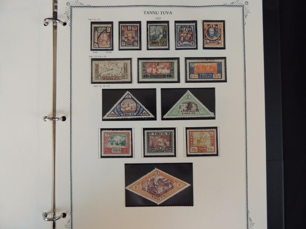 Tannu Tuva 1926-1936 Postage Stamp Album - 5