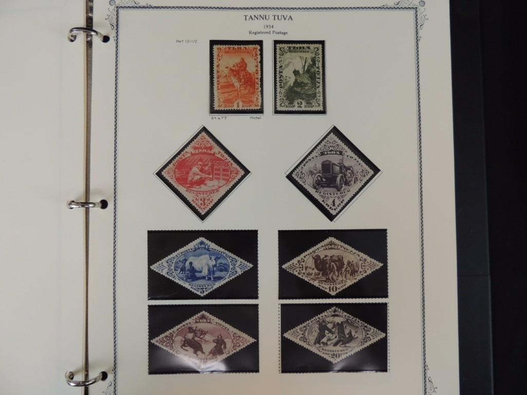 Tannu Tuva 1926-1936 Postage Stamp Album - 7
