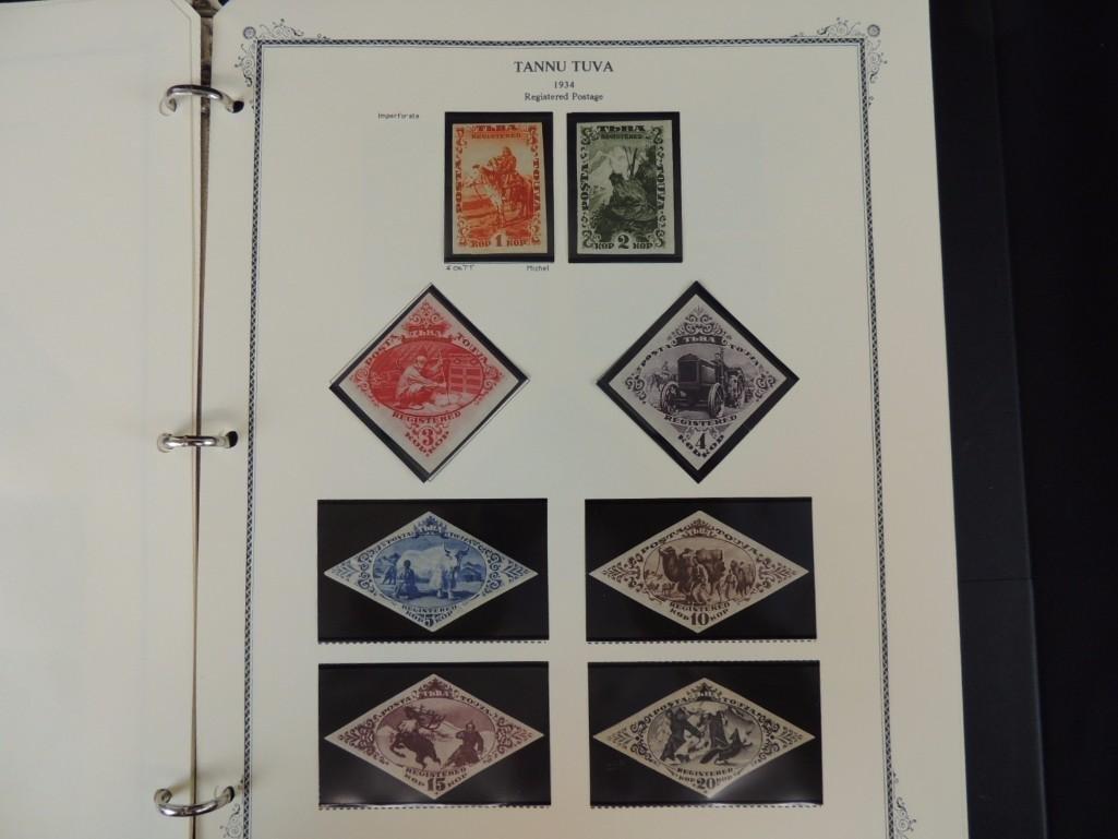 Tannu Tuva 1926-1936 Postage Stamp Album - 8