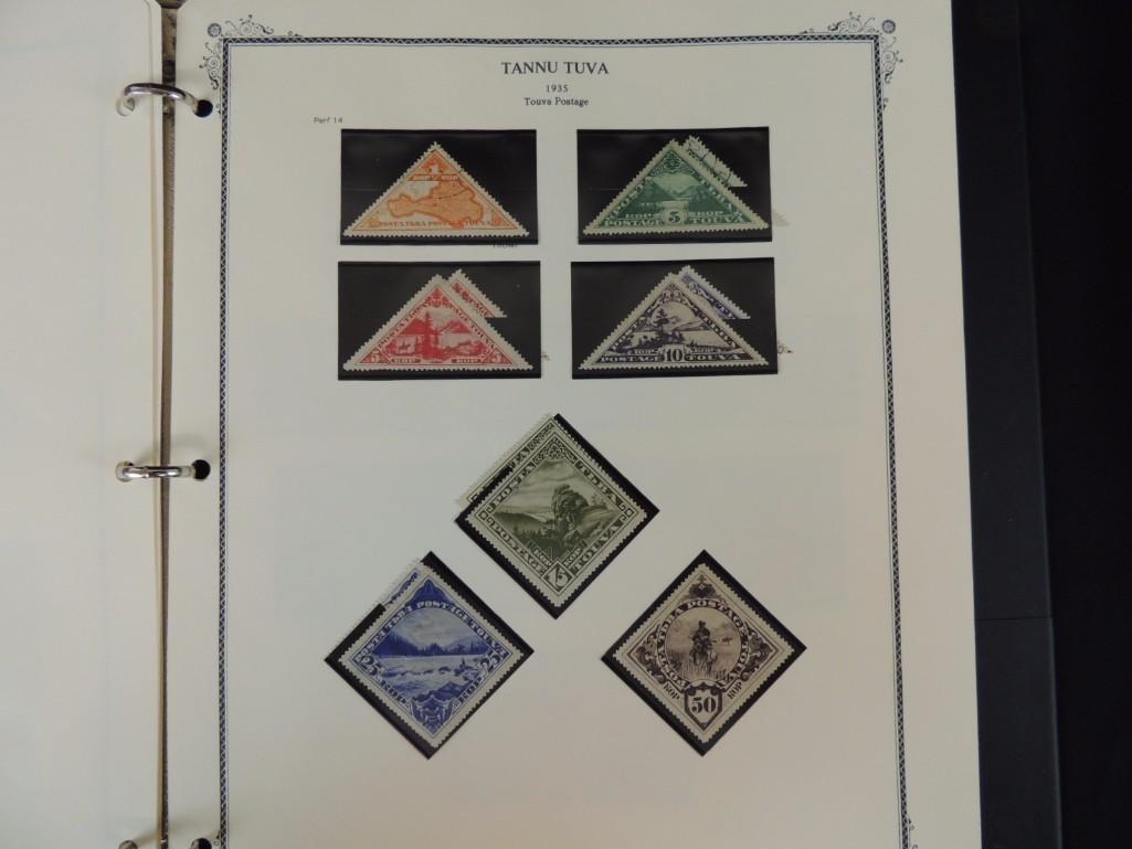 Tannu Tuva 1926-1936 Postage Stamp Album - 9