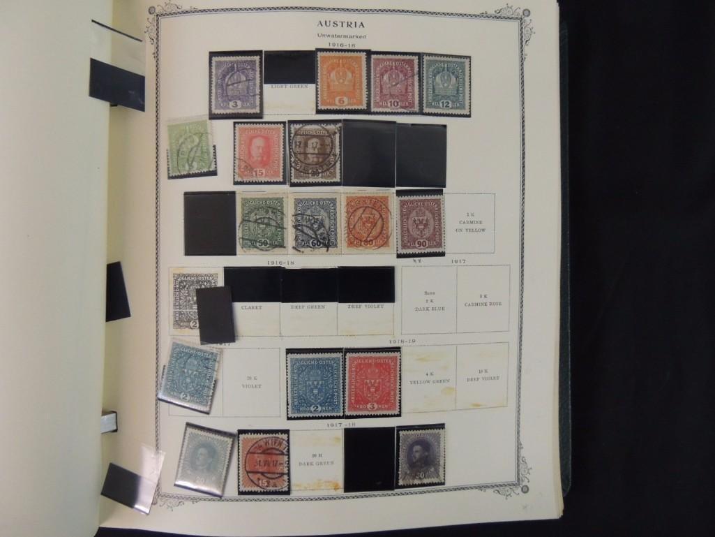 Austria Postage Stamp Album Dates from 1850-1980's - 10