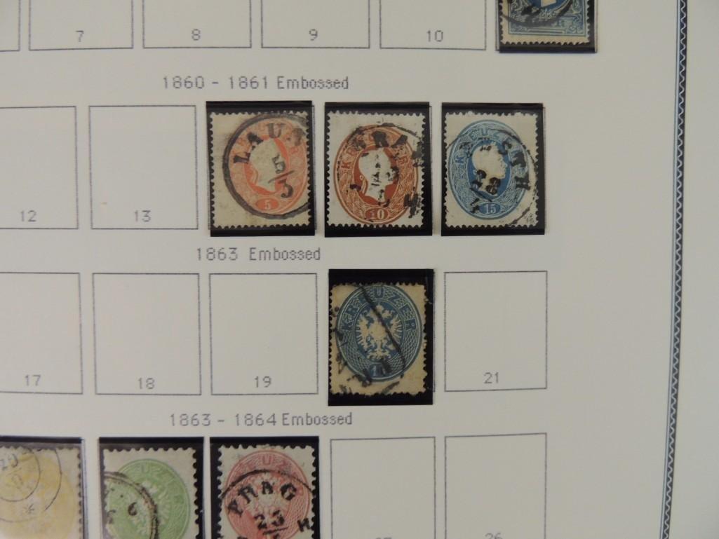 Austria Postage Stamp Album Dates from 1850-1980's - 4