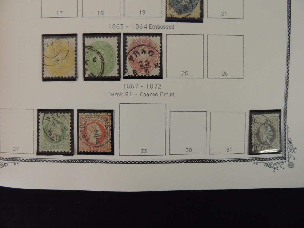 Austria Postage Stamp Album Dates from 1850-1980's - 5